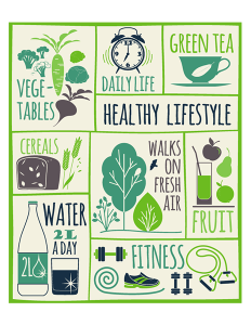 Components of an healthy lifestyle