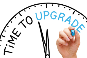 Once you begin using technology, you need to periodically upgrade and maintain it