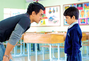A scene from the movie TAARE ZAMEEN PAR