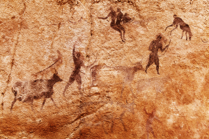 Pre-hestoric cave paintings