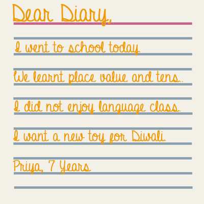 How to write journal entries for english