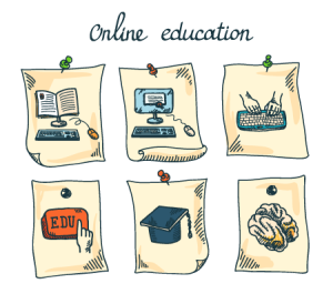 Online education can be just as effective as education within a classroom