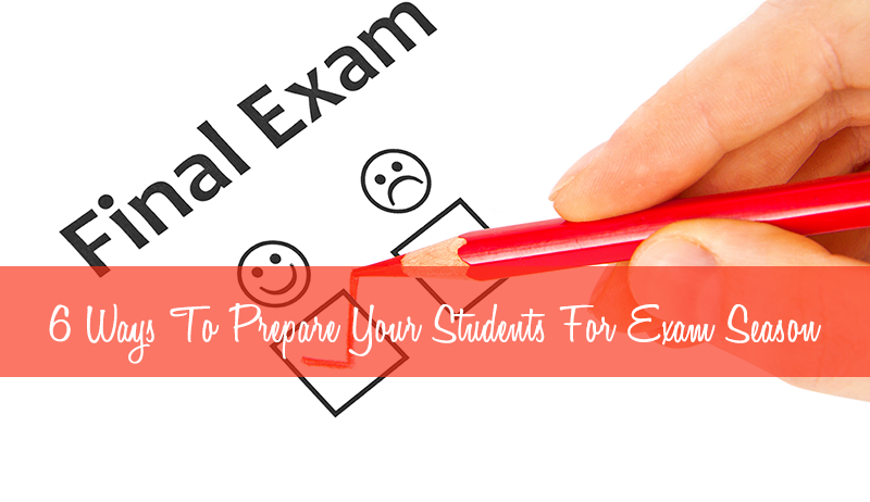 ways that students prepare for exams The process of preparing for important exams can full of pressure, so it's important to schedule downtime in between study sessions (istockphoto) the average student feels at least some level of.