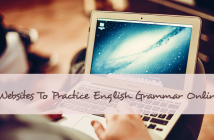 Websites where you can practice English grammar online