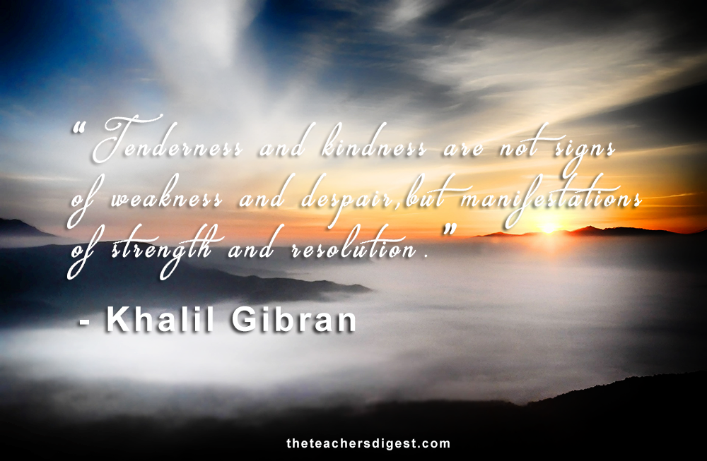 khalil gibran quotes on strength