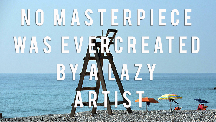 Motivational quotes for hard-working artists