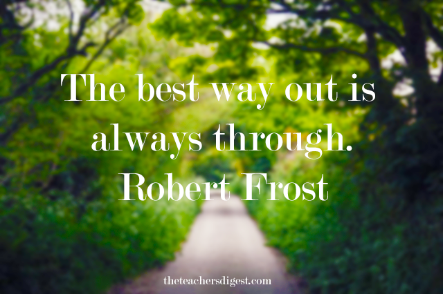Robert Frost inspirational quotes