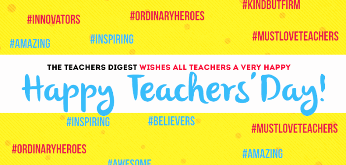 Happy Teachers' Day - 2015
